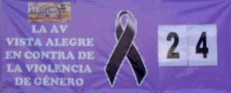 La AV Vista Alegre en contra de la violencia de género