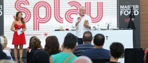 Txumari Alfaro cierra la temporada gastronómica 'MasterFood' de Splau