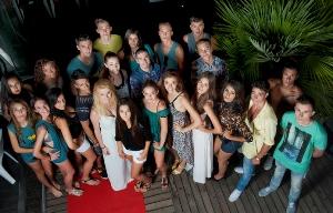 Aspirantes a modelo desfilan en Castelldefels en el casting final del 'New Model of the Year'