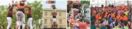 La comarca viu un nou 'boom' de colles castelleres