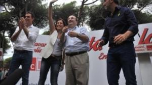 Pedro Sánchez pide la reforma constitucional en la tradicional Fiesta de la Rosa de Gavà