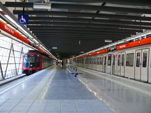 Bellvitge recupera la línia 1 del metro