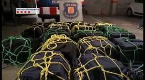 Apareixen 700 quilos de cocaïna dins un contenidor d'una empresa a Esparreguera