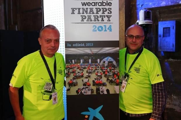 Dos viladecanencs, sota el nom d'Innova, participen a la FinnApps Party de CaixaBank