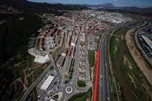 Sant Andreu de la Barca allarga les pantalles acústiques al barri de la Solana