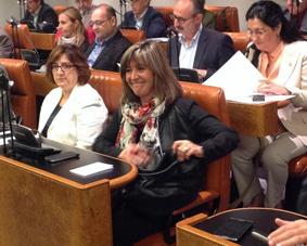 Núria Marín abandona la Diputación de Barcelona