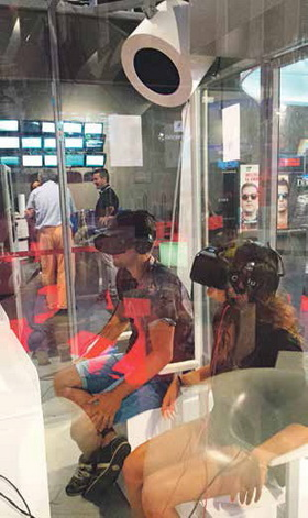 Los Full HD de Splau reinventan el cine con la inmersión multimedia como protagonista