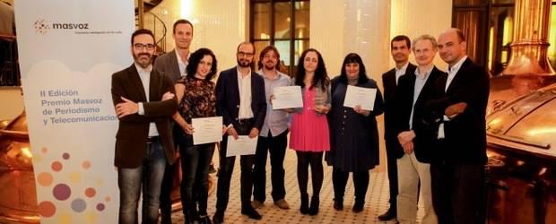 La periodista Lucía El Asri, de hojaderouter.com, Premio Masvoz de Periodismo y Telecomunicaciones