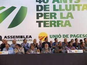 Unió de Pagesos reivindica el seu paper històric amb la Declaració de Martorell