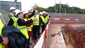 Comença a créixer el nou barri can Ribes de Gavà amb els 143 pisos de protecció oficial