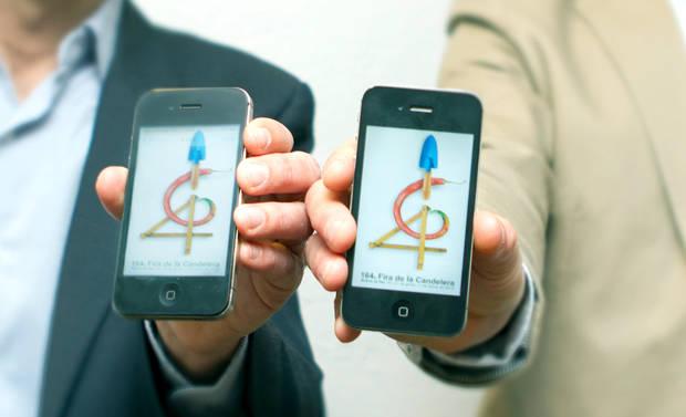 La Fira de la Candelera de Molins de Rei estrena app per estimular la festa a través de les xarxes socials