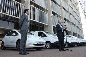 L'AMB troba en NISSAN un aliat per impulsar la mobilitat elèctrica
