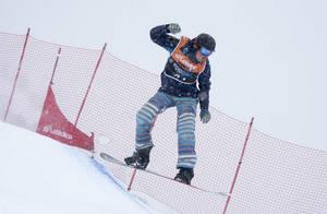 La Molina Corona els primers campions del món de para-snowboard cross IPC