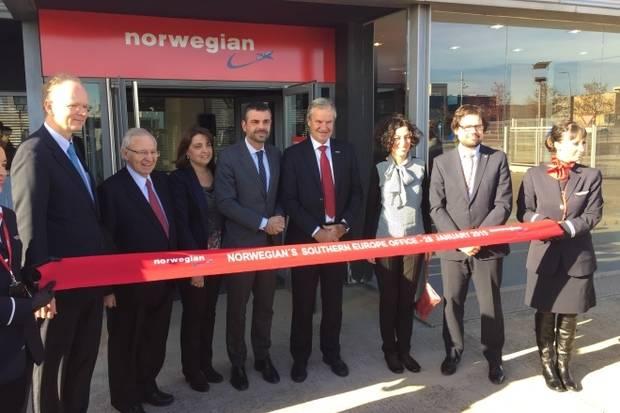 La companyia Norwegian s'expandeix amb noves oficines corporatives a l'Aeroport de Barcelona – El Prat