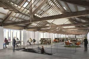 Molins de Rei presenta el projecte de la nova biblioteca del Molí