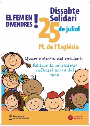 Castelldefels celebra este año el Sábado Solidario en viernes