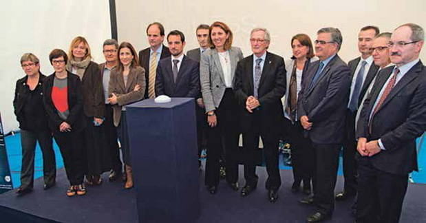 Castelldefels acoge la primera incubadora de empresas de tecnología espacial de toda España