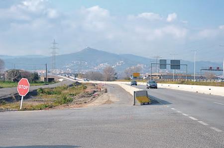 La carretera entre Gavà y Begues repite como tramo más peligroso de Cataluña