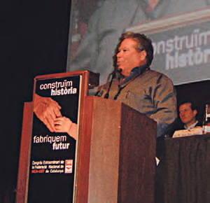 Manuel Gallardo, el metal flexible de UGT en Seat