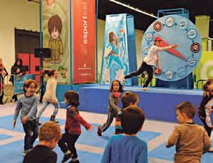 """La gimcana """"M'agrada l'esport"""" atrau més de 10.000 nens i nenes al Festival de la Infància"""
