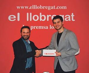 Éric Serra Le Cheualier, primer ganador de los 'forfaits' para dos personas del grupo FGC que sortea El Llobregat