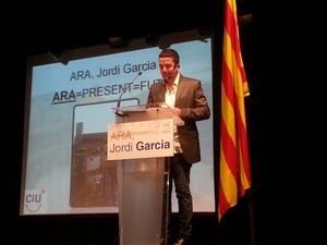 Jordi Garcia, cap de llista de CiU a Sant Boi, es presenta amb una enquesta a milers de santboians