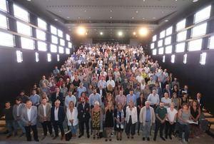 Reunión de los alcaldes en la Diputación.