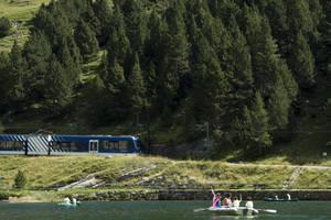 Les estacions de muntanya de FGC superen les 200.000 visites durant la temporada d'estiu