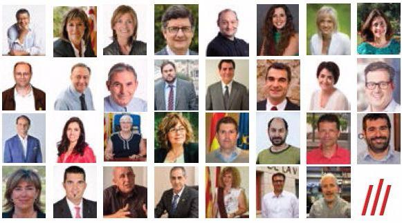 Els primers compromisos dels 31 alcaldes del Baix Llobregat i L'Hospitalet i els seus equips de govern