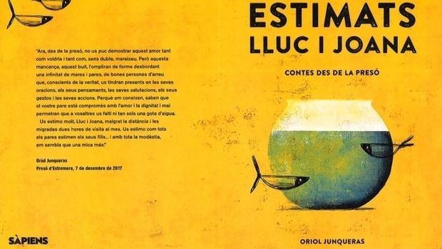 'Contes des de la presó', el libro de cuentos de Oriol Junqueras a sus hijos
