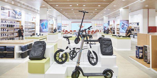 La primera tienda AliExpress fue abierta en Arroyomolinos, Madrid.