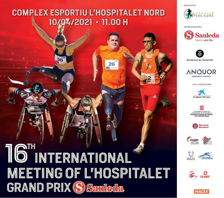 Los mejores atletas paralímpicos se darán cita en el Meeting Internacional de L'Hospitalet