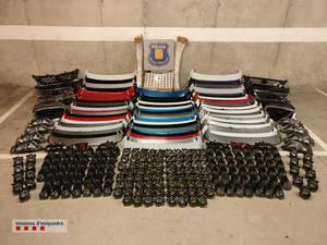 Detienen a uno de los responsables de una empresa suministradora de recambios de coche por un delito continuado de hurto en Sant Andreu de la Barca