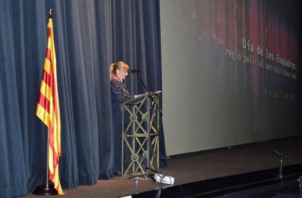 Mossos d'Esquadra lliura 284 felicitacions a la festa gran de la Regió Policial Metropolitana Sud