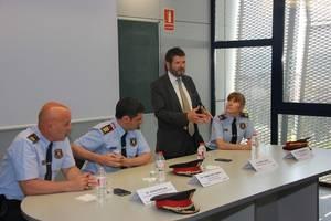 El comissari Carles Anfruns, nou cap de la Regió Policial Metropolitana Sud de Mossos d'Esquadra