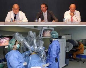 Bellvitge, pionero en cirugía robótica en 3D