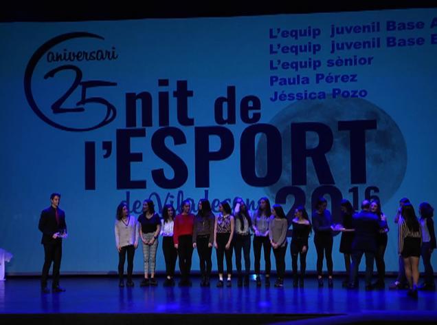 'Nit de l'esport' de Viladecans celebrada en el teatro Atrium.