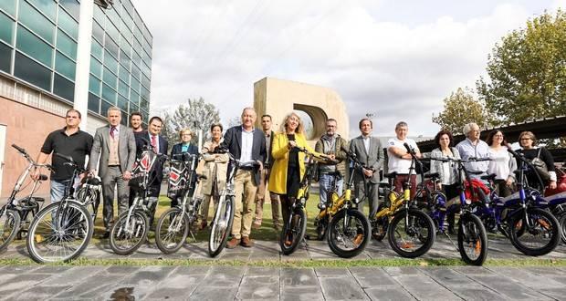 El Polígono del Pla de Sant Feliu apuesta por el transporte en bicicleta