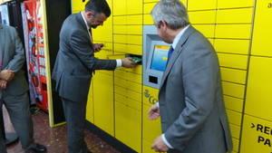 Cinco estaciones de FGC instalan el nuevo servicio CityPaq de Correos