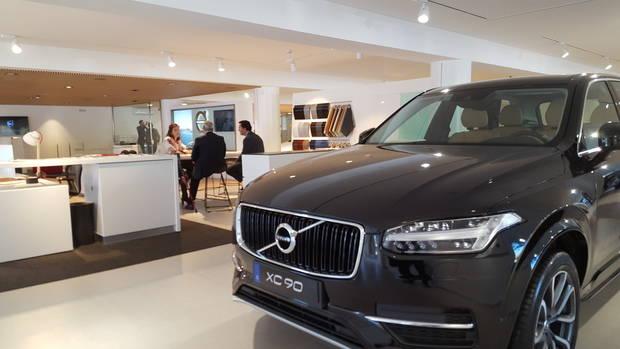 Sant Just Desvern seduce a Volvo