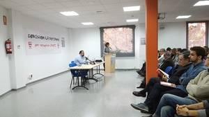 """Carlos de Pablo (UGT Baix Llobregat): """"Aquest diumenge tenim una gran oportunitat per fotre al carrer aquesta panda de fatxes"""""""