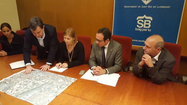 """Josep Rull: """"Sabem del nou ministre que rescatarà les autopistes radials de Madrid; destinarà entre 2.000 i 5.000 milions d'euros. Això vol dir moltes C-245"""""""