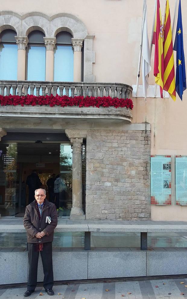 Amador Rosas tiene ahora 78 años