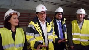 """Josep Rull: """"És incomprensible que hi hagi un decalatge molt gran entre l'entrada en funcionament de les estacions de la L10 de Barcelona i les de L'Hospitalet"""""""