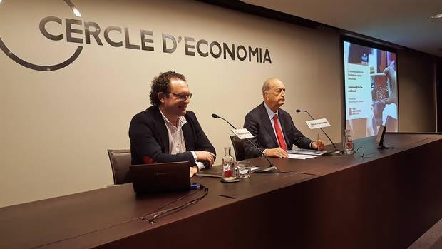 Aleix Valls, a l'esquerra, és el CEO de Mobile World Capital Barcelona