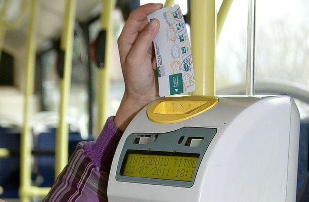 Las tarifas de transporte público serán las mismas en 2019