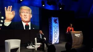 """Bisila Bokoko: """"Que Donald Trump no os impida vuestro sueño americano"""""""