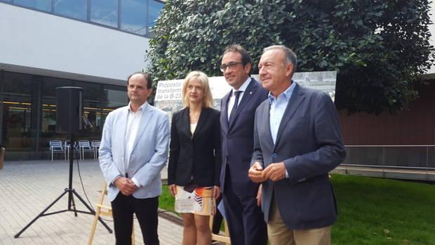 Generalitat, Àrea Metropolitana i ajuntaments reclamen a Foment el traspàs de la B-23 i 17 milions d'euros per desbloquejar la seva remodelació