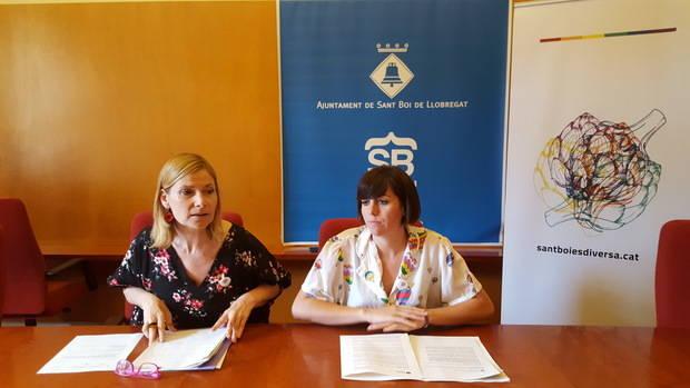 Sant Boi prioriza las actuaciones en el espacio público, el ámbito educativo y sanitario para acabar con la discriminación del colectivo LGTBI