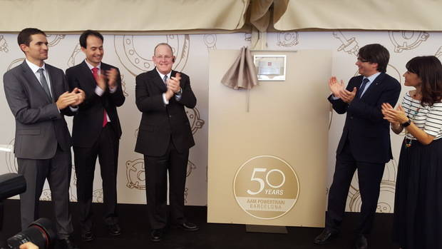 AAM Powertrain Barcelona, ubicada en Gavà, celebra las bodas de oro con el objetivo de cuadruplicar las ventas en 2020